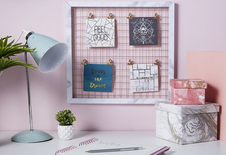 Spruce up your desk space for less just in time for that new term!