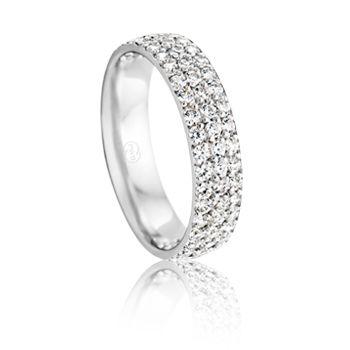 HR4103. Ladies Collection. #PeterWBeck #AustralianMade #Australia #WeddingRing #Wedding #Ring #WhiteGold #Gold #Diamonds