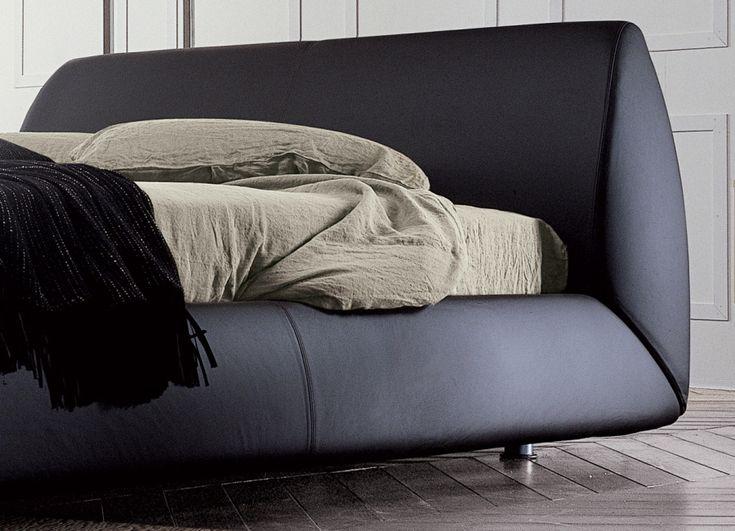nova dall agnese hier ist die perfekte wahl fr diejenigen die immer von einem bett mit leder oder dunkelbraune kunstleder getrumt - Hausgemachte Kopfteile Fr Betten