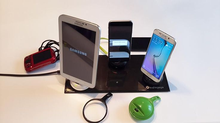 A real piece of NEW TECHNOLOGY Wireless Charger & Power Bank! Save money. TODAY on @Indiegogo http://buff.ly/1KTZWHF