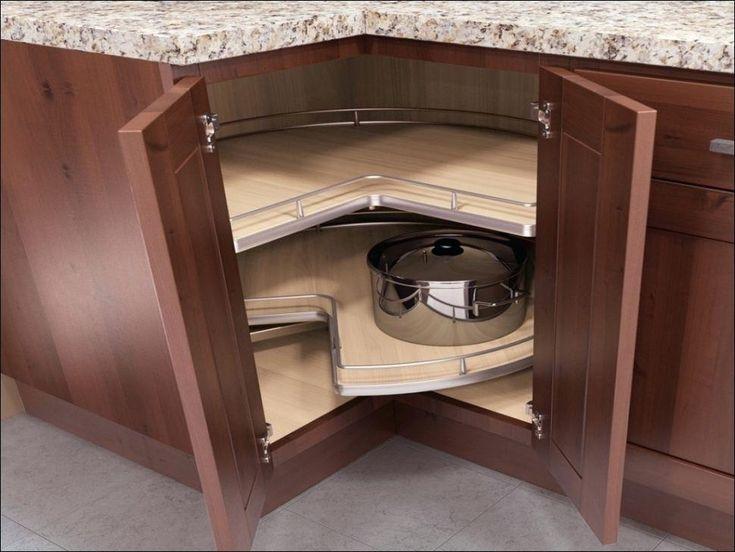Wonderful Corner Base Cabinet Carousel Kitchen