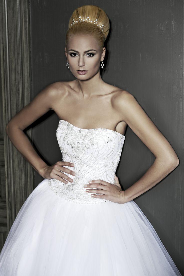 Hair: Franck Provost Prague for L'Oréal Professionnel #WeddingHair