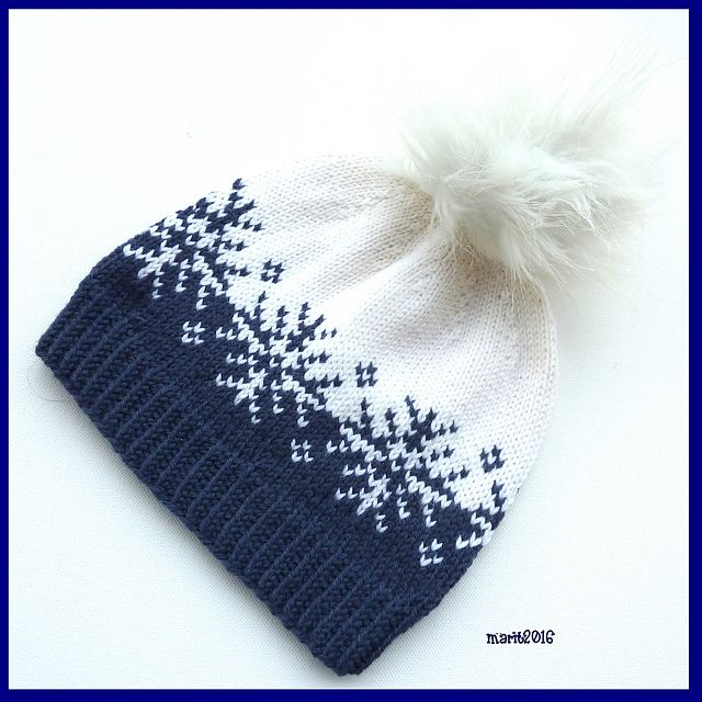Ravelry: Vinterstormlua/Winterstorm hat pattern by MaBe