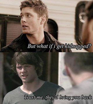 Supernatural Manip (No it is not an actual quote from the show)