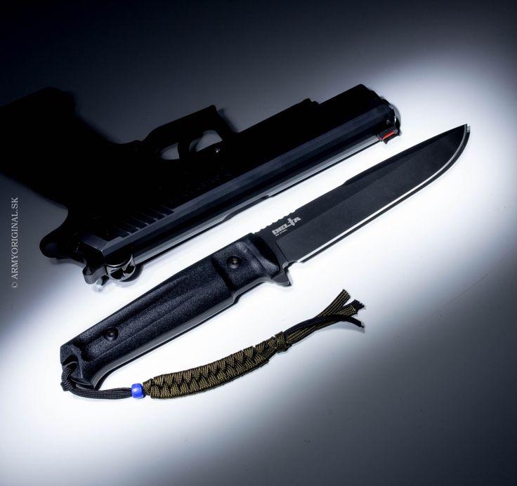 Nôž DELTA D2 čierny, Kizlyar Supreme