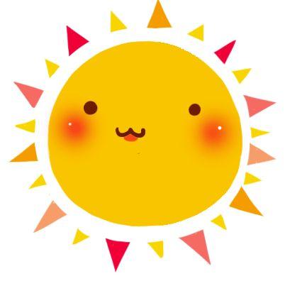 Vrolijke zon! | #zon #tekening #vrolijk | #sun #graphic #kids