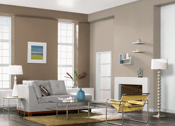This is the project I created on Behr.com. I used these colors: MESA TAUPE(PPU5-14),MISTY MORN(PPU12-10),BELGIAN SWEET(700D-6),LUSTER WHITE(W-B-600),