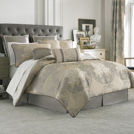 the langdon bedding collection by croscill is an updated and uniqu