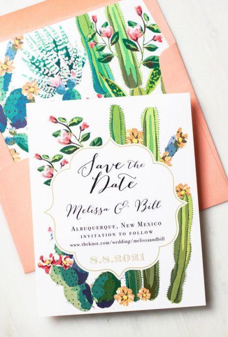 Decoração moderna para casamentos - Cactos  Inimagináveis em uma decoração para casamentos, os cactos podem trazer um toque incomum, de criatividade e modernidade. A festa não precisa ter uma temática mexicana para isso já que eles também re…