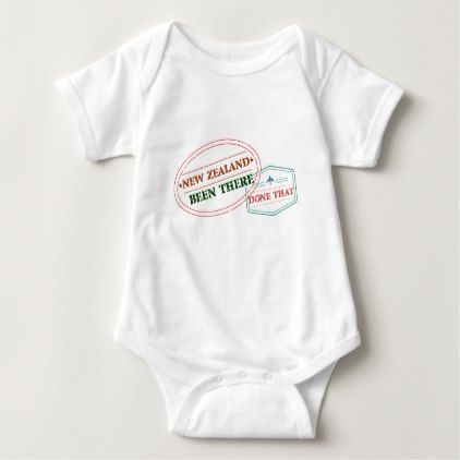 #country - #New Zealand Been There Done That Baby Bodysuit