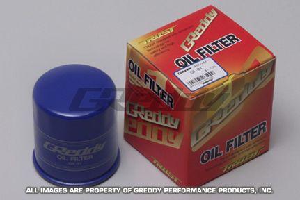Oil Filter GReddy,Toyota 4AG-3SG, Nissan SR20 (red)