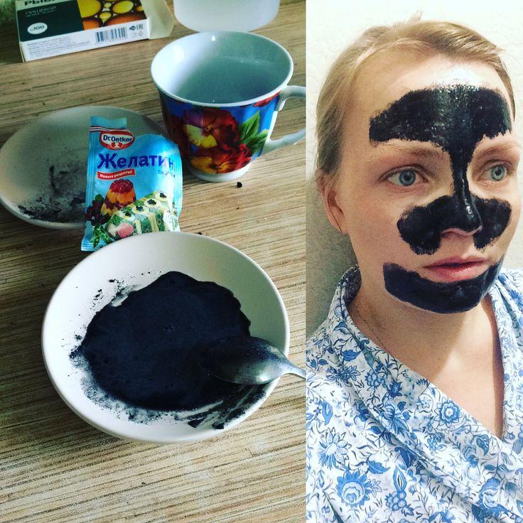Как убрать черные точки?Чудо черная маска -пленка дома!- Иринка missKic