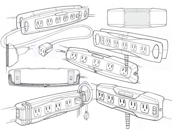 Rubbermaid FastTrack Power Strip by Mason Umholtz
