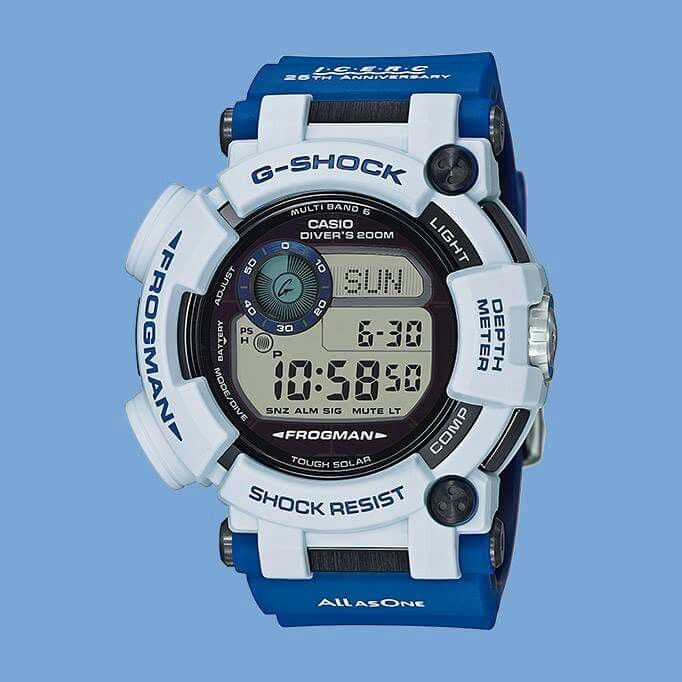 G Shock X Love The Sea And Earth Anniversary Collab Watch Limited Edition Model No