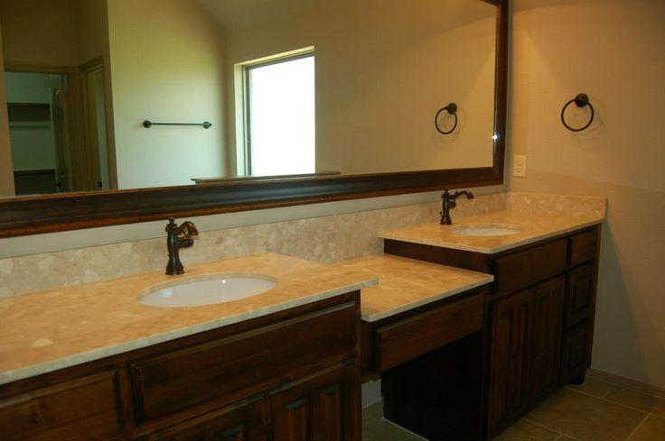 20 Best Mcbee Homes Bathrooms Images On Pinterest Custom Wood Master Bathroom And Wood Cabinets