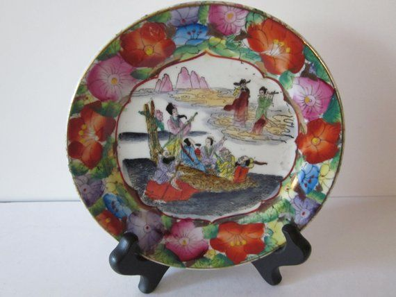 Chinese Porcelain Collectible Plates