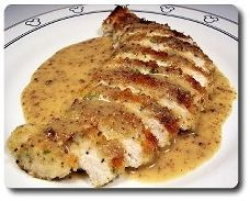 French recipe for chicken and mushrooms