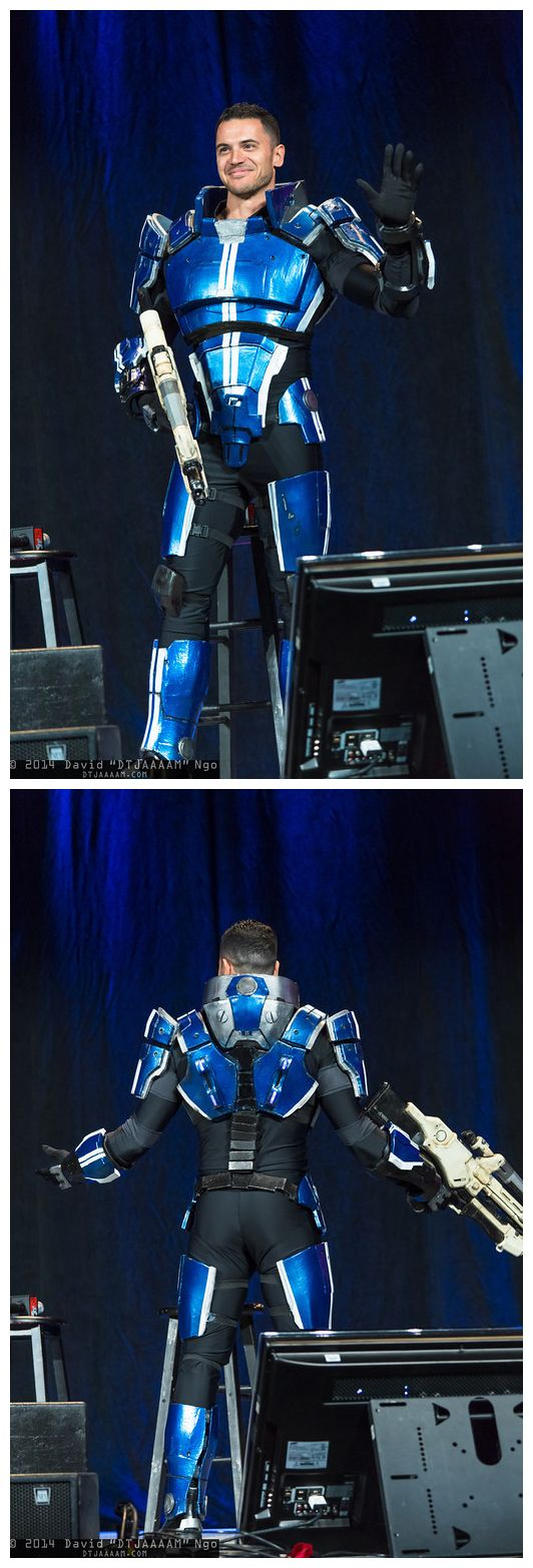 Kaidan Alenko (Mass Effect) Cosplay by Luciano Costa | PAX East 2014