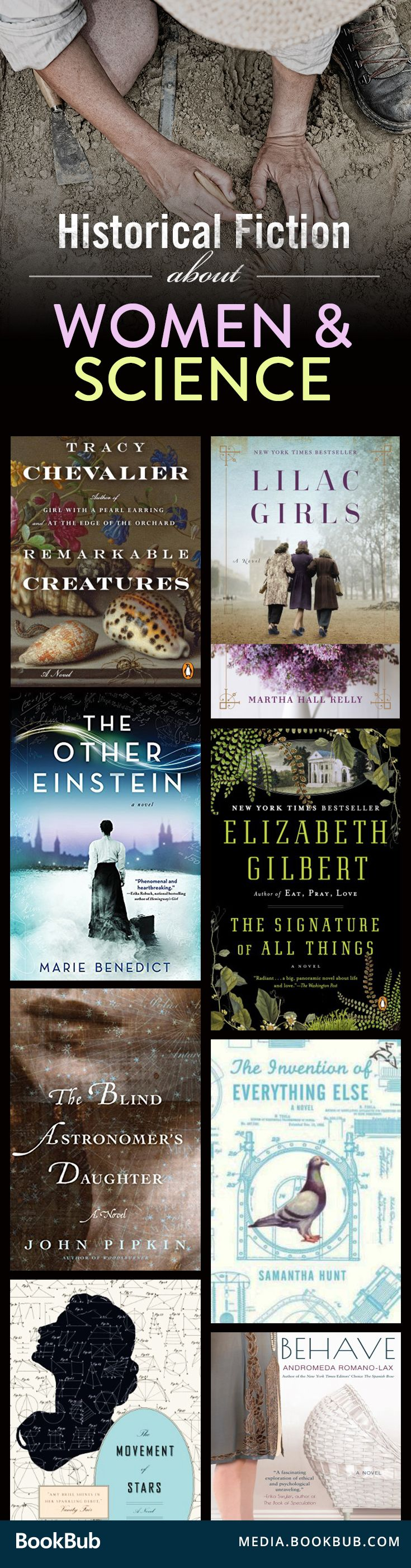 These 8 historical fiction titles are must-read inspiring books for women.