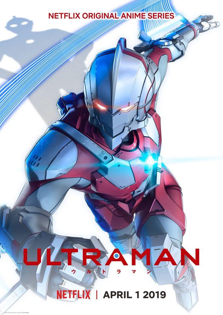 ULTRAMAN Anime Netflix Poster HD (English) Pertempuran
