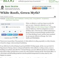 Edmonton Flat Roofing   White Roofing   Green Roof Myth? GENERAL ROOFING  SYSTEMS CANADA (