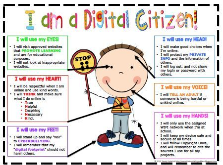 Why is it important to be a good digital citizen
