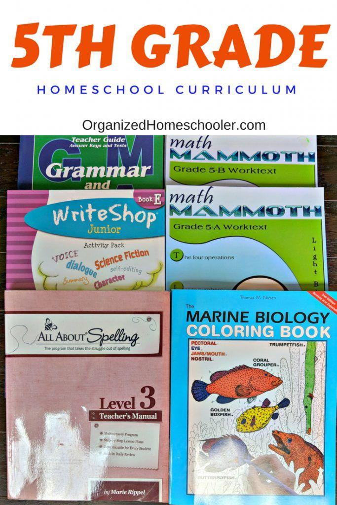 5th Grade Homeschool Curriculum | Homeschool Curriculum
