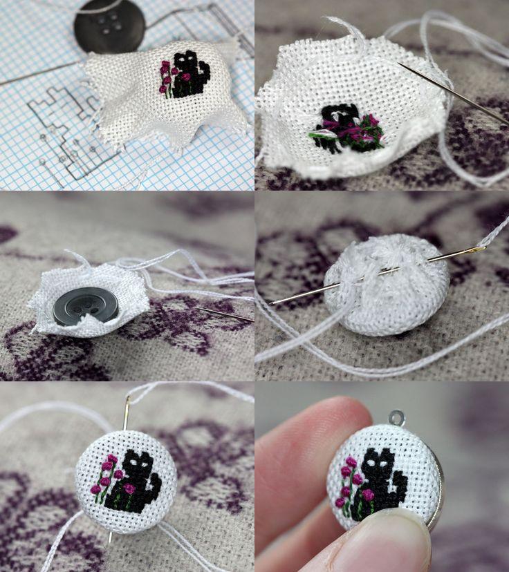 cross stitch button - Hľadať Googlom