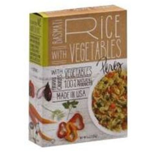 Pereg Gourmet Basmati Rice With Vegetables Mix-6. 4 Oz-Package (Pack of 6) | #Grocery