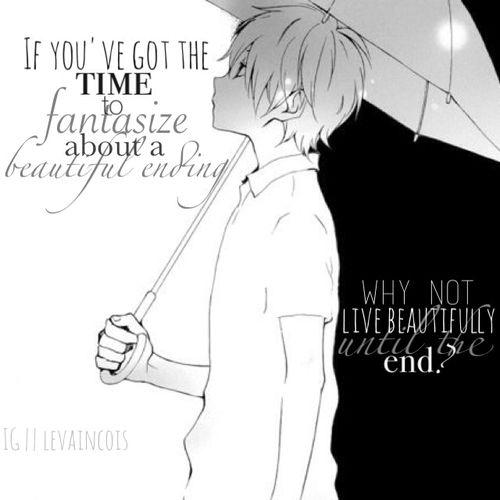 deep anime manga quotes quotesgram
