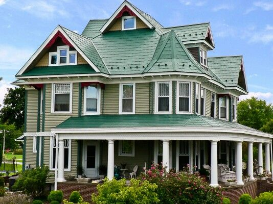 Best 64 Best Green Metal Roofs Images On Pinterest Exterior 640 x 480