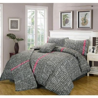 Vargas Duvet Cover with Pillow Case Set