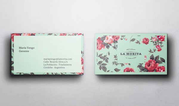 La Morita. Restaurant by Paula Mastrangelo, via Behance
