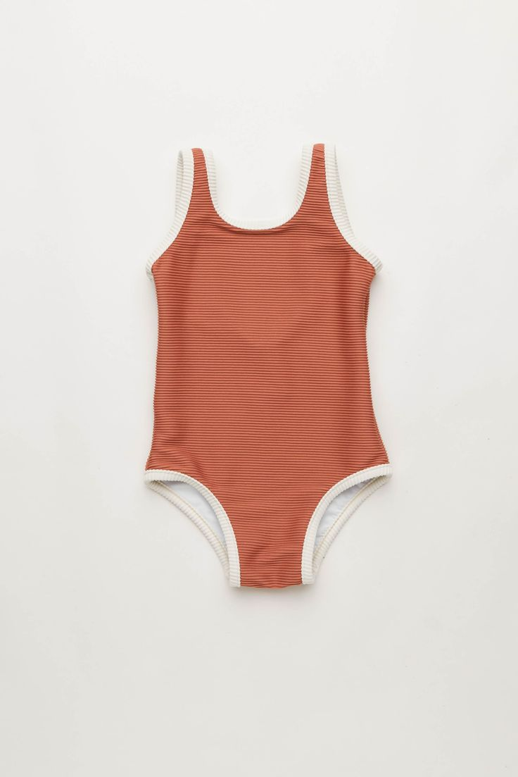 Mini Rib One Piece in Rose   Zulu and Zephyr Mini Shop in store or online at www.saltliving.com.au #saltliving #zuluandzephyr #mini