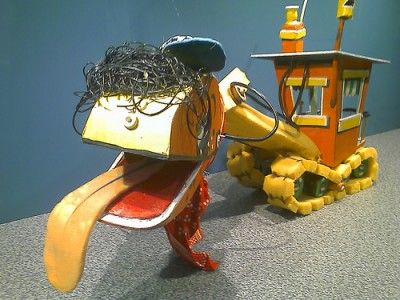 Bill the Steam Shovel - remember this character from Mr Squiggle?