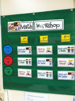 Fun and Fearless in First: Math Workshop