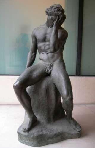 Antoine Bourdelle : Adam. Musée Bourdelle, Paris XV