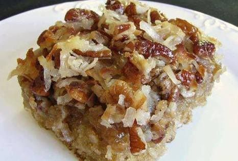 INGREDIENTS: 1/2 C quick cooking oatmeal 3/4 C boiling water 1/2 C sugar 1/2 C brown sugar 2/3 C flour 1/2 tsp salt 1/2 tsp baking soda 1 egg 1/4 C of shortening How to make it: Mix the oatmeal with the boiling water, stir and