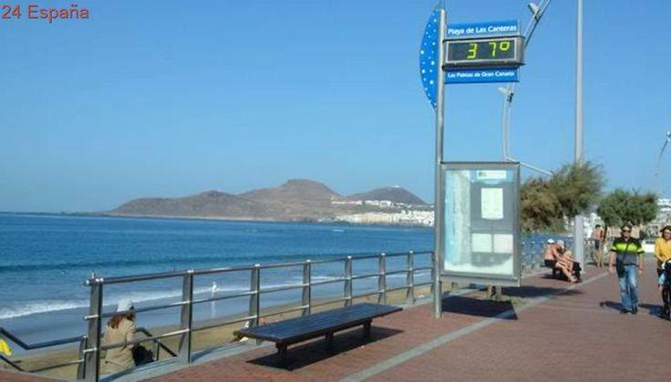37 grados en Canarias y Aemet anuncia fuertes lluvias desde el viernes
