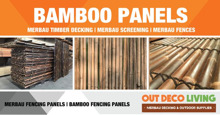 Bamboo Panels are great for Fencing, brings exotic design & costs effective to your home and garden. Our Bamboo Fencing Panels are durable and can lasts up to 15 years. #BambooPanels #BambooFencing #BambooFencingPanels