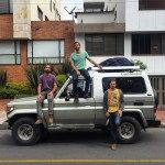 """We Got A Car, It's Rally Time! - http://globalgoulets.com/2015/12/we-got-a-car-its-rally-time/ - WE GOT A CAR! It's #RallyTime!! After nearly a month in Bogotá, it's finally time to get back on the road with our """"new"""" 1995 #Toyota #LandCruiser. Her name is #Velita, the beautiful Spanish word for """"candle"""" because we bought her on the Colombian holiday Dia de las Velitas and because she is our light […]   #overland #overland"""