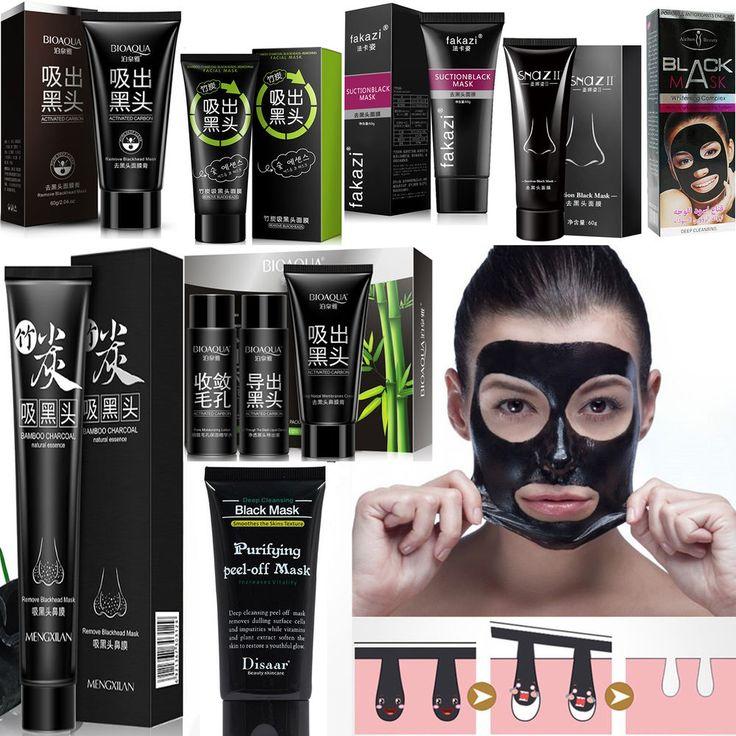 Blackhead Deep Cleansing Black MASK purifying peel-off mask Facial Clean 28 KIND #VariousTypes
