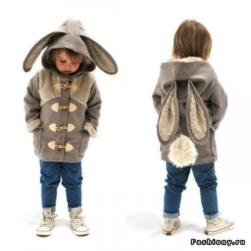 Забавные детские куртки-костюмы животных