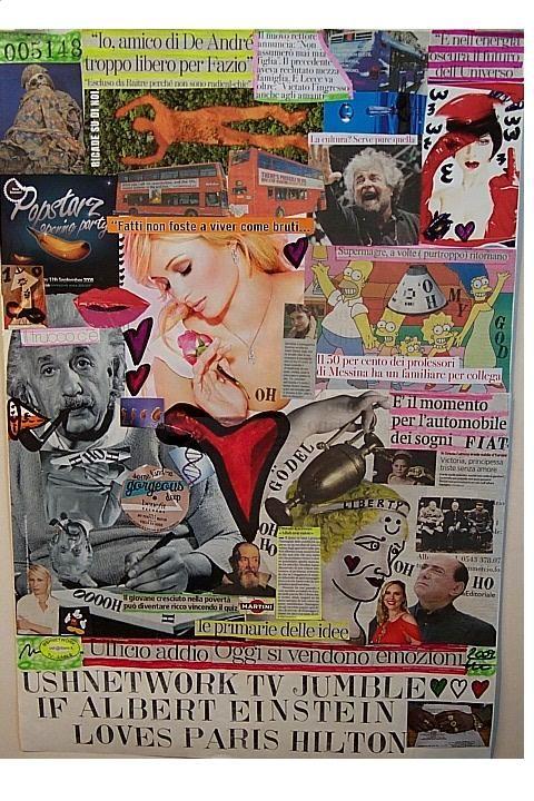 If Albert Einstein Loves Paris Hilton , 2009, nr. 5148, 50x75 cm.