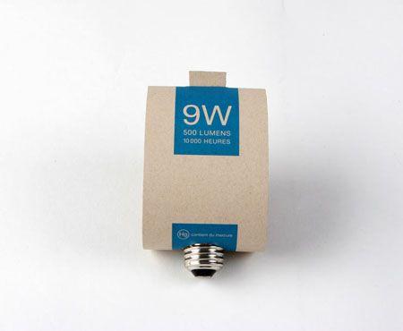 Cardboard Lamp Packaging by Audrey Blouin