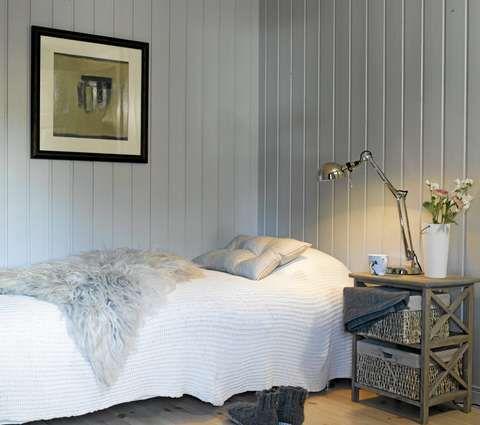 NYTT SOVEROM: Soverommene er blitt lyse og delikate med harmoniske farger og nytt møblement.