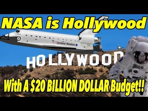 NASA is Hollywood with a $20 BILLION DOLLAR Budget!!   FLAT EARTH Quick ...  Published on May 6, 2017