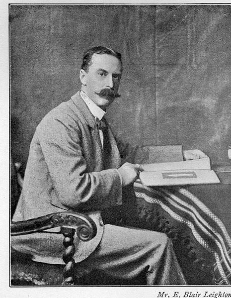 Edmund Blair Leighton, 1900