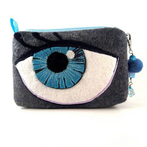 Felt eye