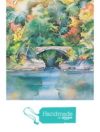 "Watercolor Giclee Print of Cornell University's Beebe Lake, Ithaca NY, Painting 12"" x 18"" by Cheryl Chalmers from Cheryl Chalmers https://www.amazon.com/dp/B018R1VSBS/ref=hnd_sw_r_pi_awdo_IA1JybTRK5ATB #handmadeatamazon"
